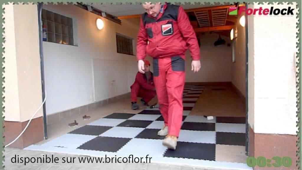 Dalle Pvc Pour Garage Et Atelier Fortemix Fortelock Une Pose Rapide Youtube