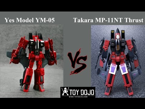 BB7 / Yes Model YM-05 Assault (MP Thrust) vs Takara Masterpiece Thrust