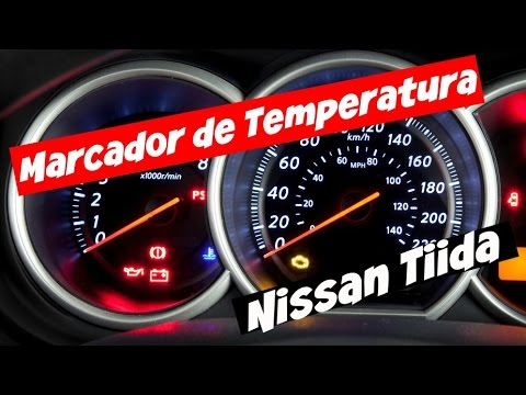 Marcador Temperatura Da Agua Manometro Nissan Tiida Livina