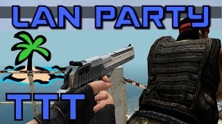 Trouble in Terrorist Town - Island Adventure - LAN Party