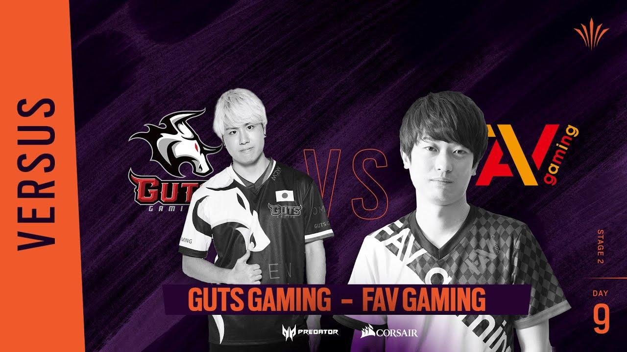 GUTS vs FAV// Rainbow Six APAC North Division 2020 - Stage 2 - Playday #9