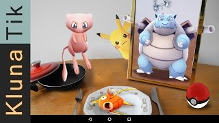 How to CATCH: BLASTOISE, MEW, and a MAGIKARP!! Pokémon Go ASMR eating sounds