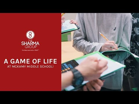 The Game of Life at McKamy Middle School | The Sharma Group