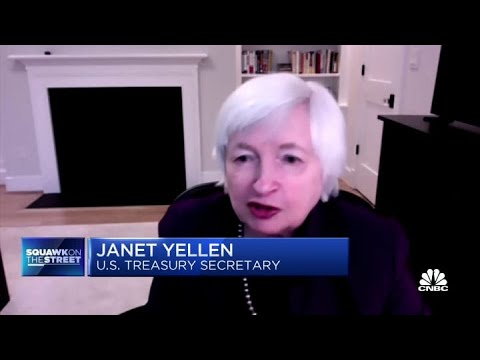 Janet Yellen makes major push for more stimulus and warns of risks