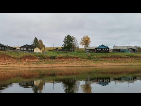 Вымирающие деревни на берегу реки Мезень.