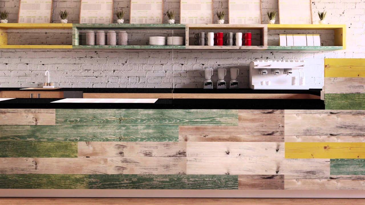 Джуси Бар в Бостон. Interior design of Juice bar in Boston ...