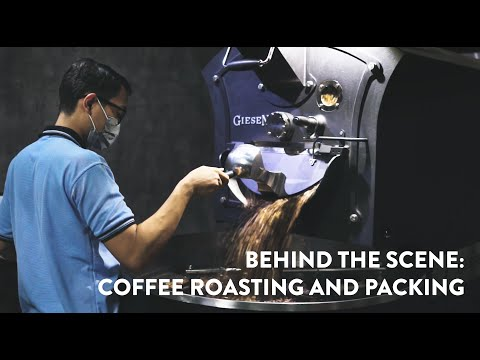 BEHIND THE SCENE: Space Coffee Roastery - a Vlog
