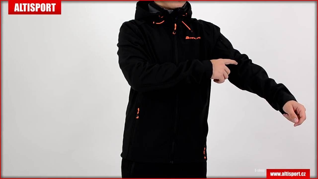 pánská softshellová bunda alpine pro nootk w16 černá - YouTube 53ceecc83b3