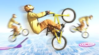 ГЛАЙД НА BMX ДЛИНОЙ 10 КМ В GTA 5 ONLINE ( SKILL TEST )