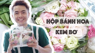 #04 Hướng Dẫn Bắt Hoa Hồng Kem Bơ // How To Pipe Buttercream Rose