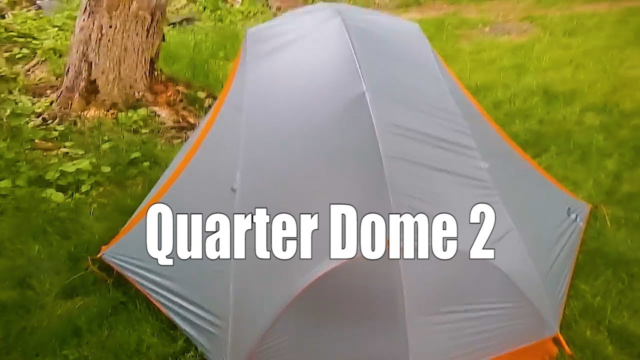 & REI Quarter Dome 2 Review - YouTube