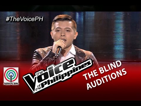 """The Voice of the Philippines Blind Audition """"Stay With Me"""" by Jason James Dy (Season 2)"""