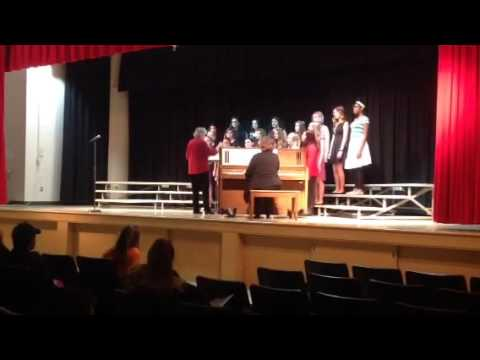 Horning middle school jazz choir We Need a Little Christmas