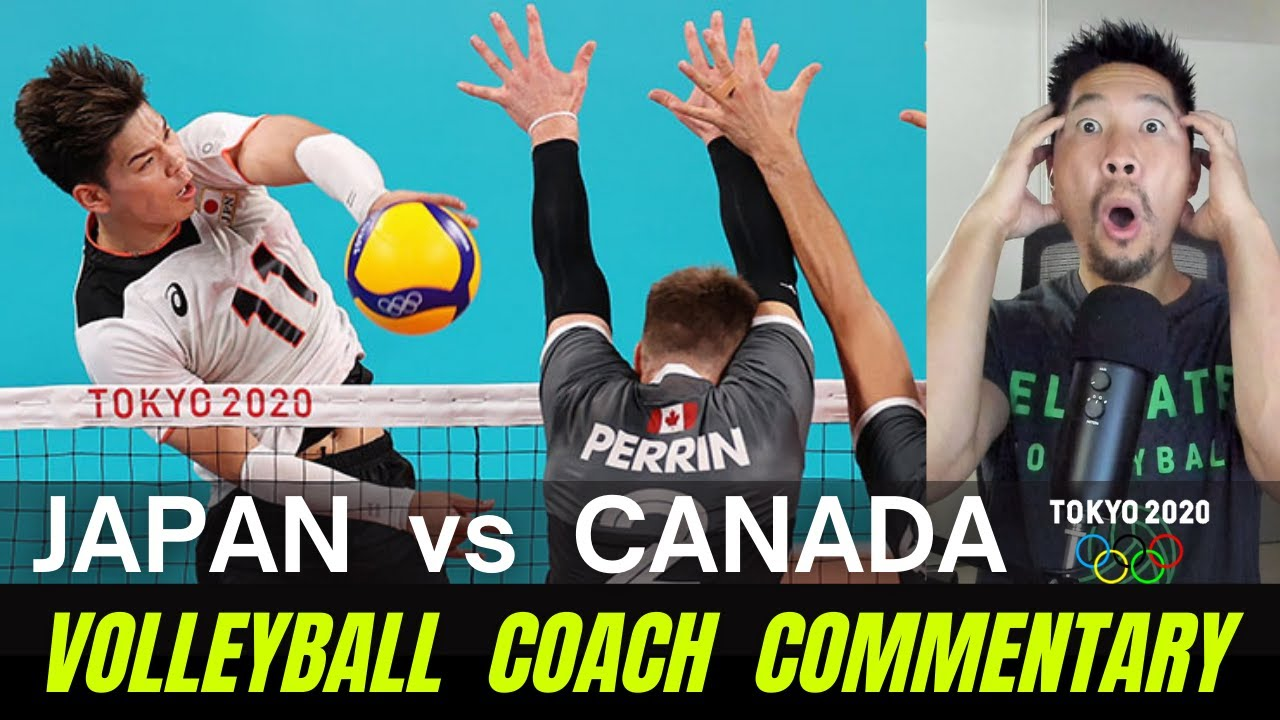 VB Coach Commentary - Japan vs Canada (Pool Play) | Tokyo 2020 Olympics Men's Volleyball