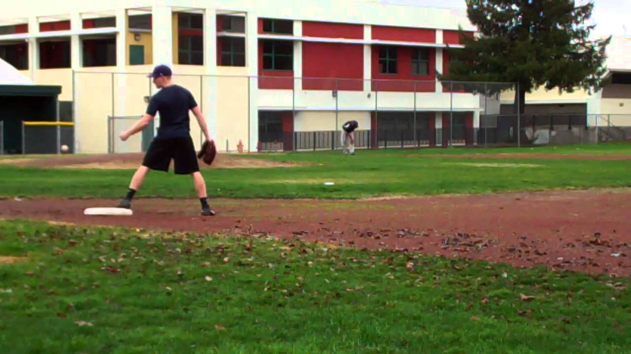 Tyler Williams, Defensive Work at 3B. Petaluma High School, 2016.