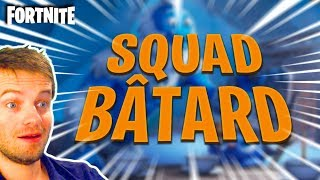 🔴 [FORTNITE] NEW SKIN TOTALLY WTF - SQUAD BAT-RD REUnited FOR a MAX OF TOP 1!