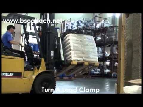 Turn a Load Clamp(Side Stabilizer Type)