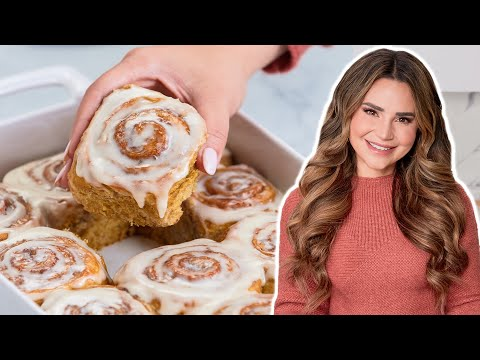 How To Make PERFECT Cinnamon Rolls Every Time! (Pumpkin Spice!)