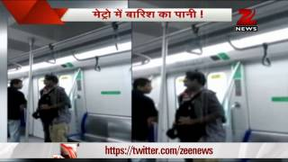 Mumbai Metro suffers leakage due to rains thumbnail