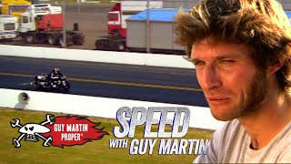 Guy Martin on Britain's Fastest Drag Strip with a 400hp Drag Bike | Guy Martin Proper