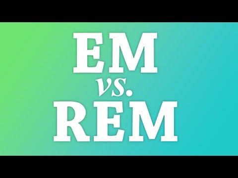 CSS Em And Rem Explained #CSS #responsive