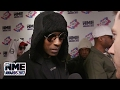 "Capture de la vidéo Skepta Calls Wiley ""selfless"" On The Red Carpet @ Vo5 Nme Awards"