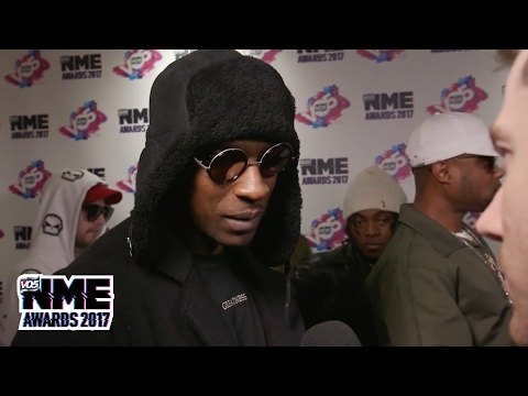 "Skepta calls Wiley ""selfless"" on the red carpet @ VO5 NME Awards"