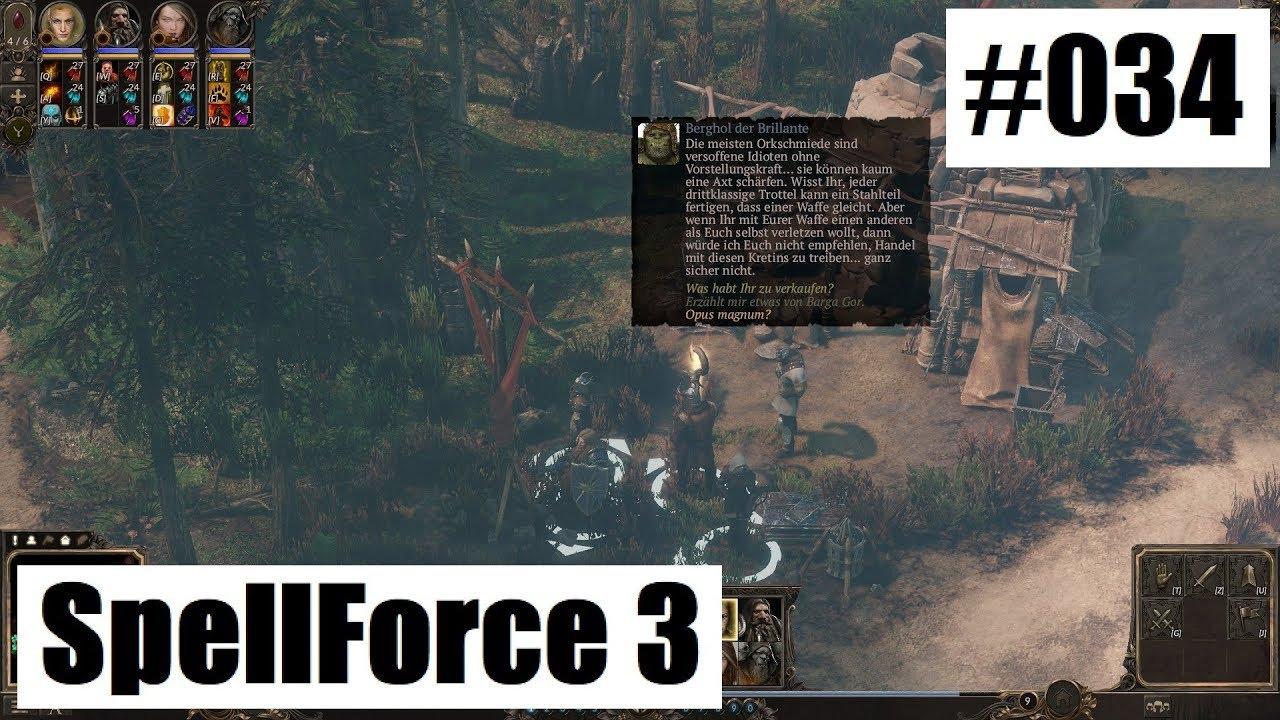 SpellForce 3 - der Schmied - #34 ( Let\'s Play Gameplay Deutsch ...