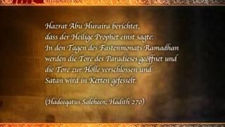 Hadith Ramzan Fastenmonat - Ausspruch des heiligen Propheten Mohammad (saw) über Satan