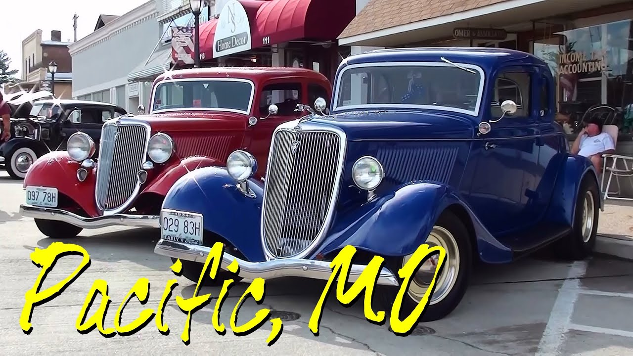 pacific cruise night 2013 hot rods rat rods muscle cars and classics pacific mo youtube. Black Bedroom Furniture Sets. Home Design Ideas