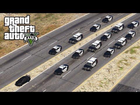 GTA 5 - BIGGEST HIGH SPEED PURSUIT! LSPDFR Let's Be Cops Episode #137 (Fourth Of July)