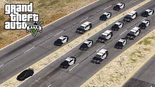 GTA 5 - BIGGEST HIGH SPEED PURSUIT! LSPDFR Let's Be Cops Episode #137 (Fourth of July)