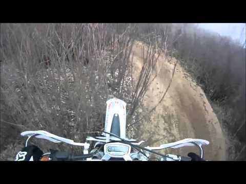 New Fountain Creek Tour Part 1 - Colorado Dirtbike Riding KTM with GoPro