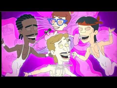 FREDDIE MERCURY CARTOON GAY SONG