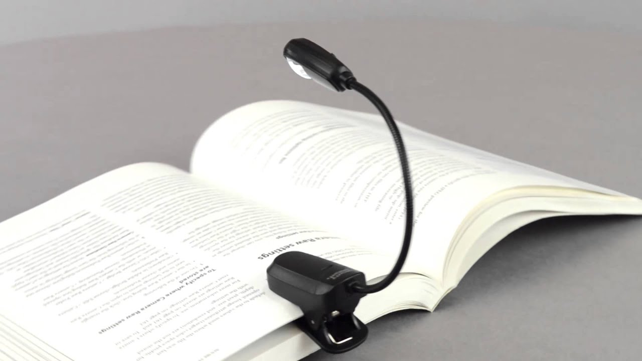 mighty bright eflex ereader book light youtube