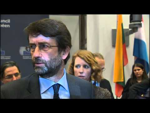 EYCS Council, Novembre 2014 Closing Doorstep by Min. Franceschini