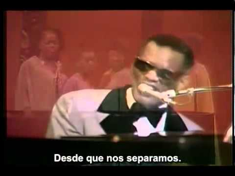 Ray Charles - I Can't stop loving you  (Legendado)