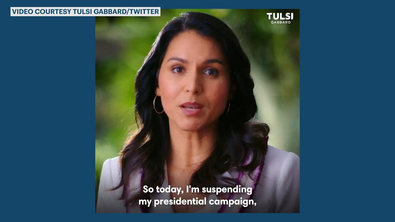 Tulsi Gabbard ends 2020 campaign and endorses Joe Biden ...