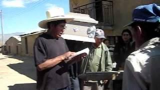 Sangayaico: Funerales de don Fortunato Guerreros