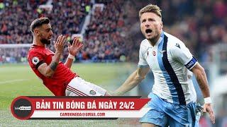 Bản tin Cảm Bóng Đá ngày 24/2   Tân binh Bruno Fernandes tỏa sáng; Immobile không ngừng ghi bàn