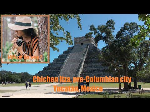 WHAT TO SEE in Chichen Itza, pre-Columbian City, Yucatan, Mexico