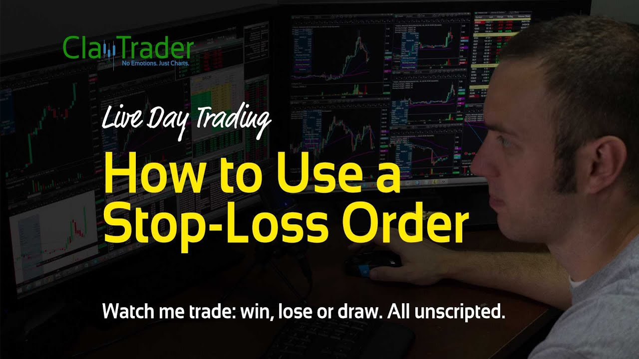 how to create a stop loss order