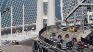 San Francisco-oakland Bay Bridge Construction Time Lapse 2002-2013