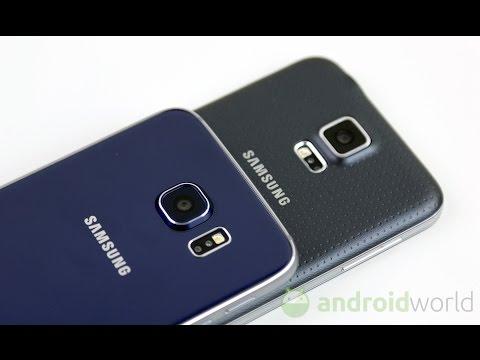 Samsung Galaxy S6 vs Galaxy S5, confronto in italiano