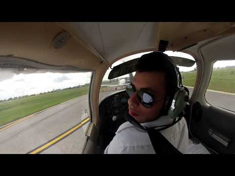 Taxi and take off from kissimmee (KISM) with ATC