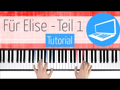 Noten für elise klavier anfänger