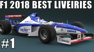 F1 2018 Best Liveries #1