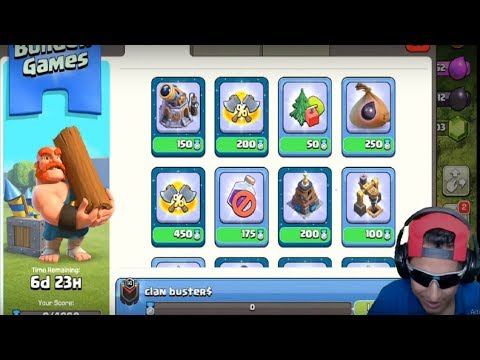 Let's Complete Clan Games | Loot Attack | Clash Of Clans Live
