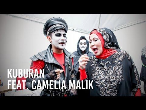 [ HEBOH!!! ] KUBURAN Feat. Camelia Malik - Laguku (Live)