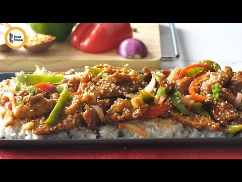 restaurant-style-dragon-chicken-recipe-by-food-fusion